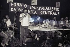 Ato contra a intervenção imperialista na América Central, organizado por CS e OSI (Local desconhe...