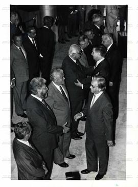 Posse de ministros no Palácio do Planalto (Brasília-DF, 8 out. 1992).  / Crédito: Lula Marques/Fo...